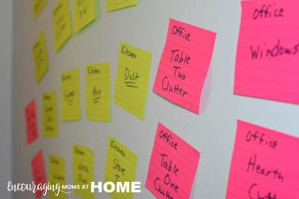 The Sticky Note Method for Getting Kids to Help Around the House (image)