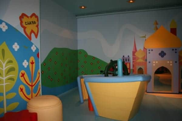 disney fantasy it's a small world nursery baby club lobby