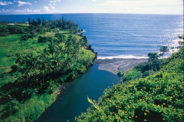 Keanae Peninsula, Maui - Image courtesy Hawaii Visitors and Convention Bureau/Linda Ching, Family Vacations on Maui