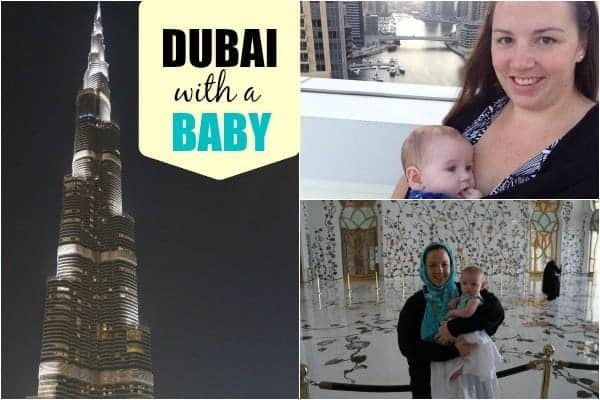 dubai with a baby, dubai with kids, stopover in dubai