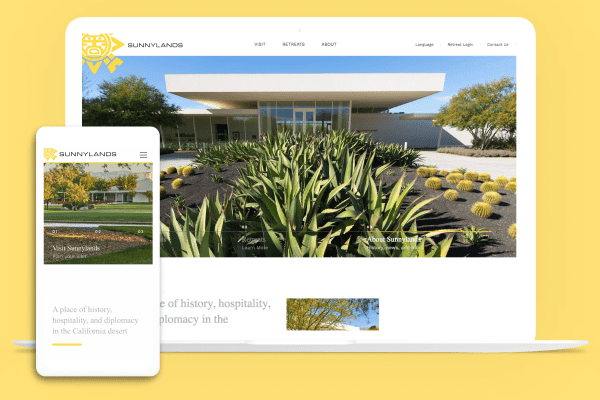 Sunnylands on multiple devices