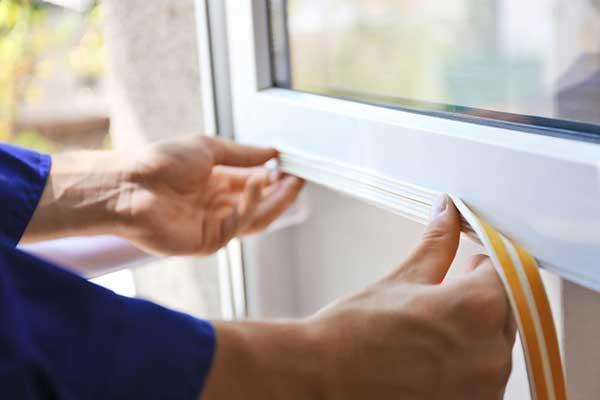 Weatherstripping Window