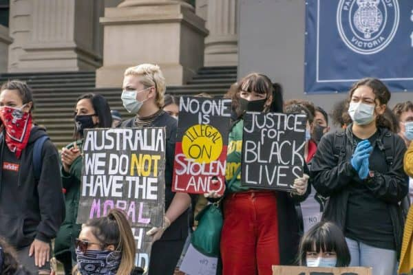 Black Lives Matter - Melbourne (Australia) Rally