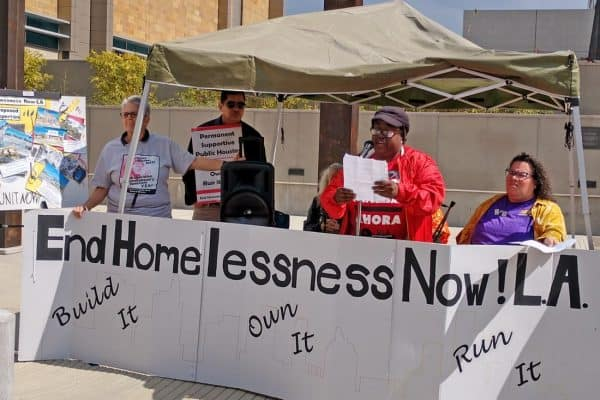 Los Angeles campaign proposes solutions to looming US eviction crisis