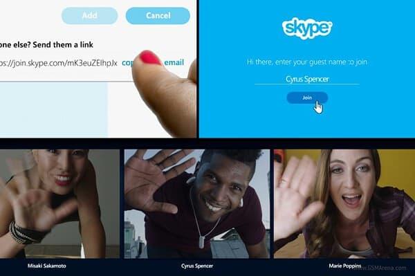 Skype Guest Video Calls