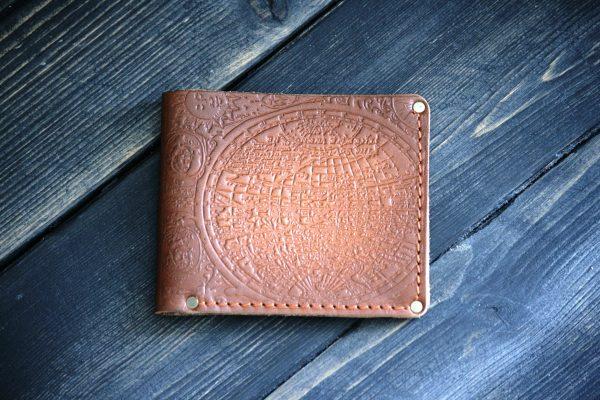 """Бумажник """"Slim"""" из натуральной кожи"""