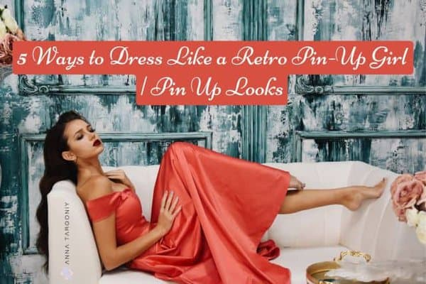 how to do retro pin up girl looks
