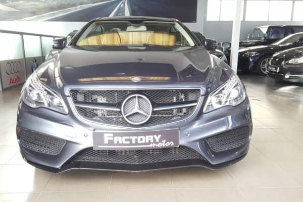 Frontal Mercedes-Benz E250 Coupe BlueTEC