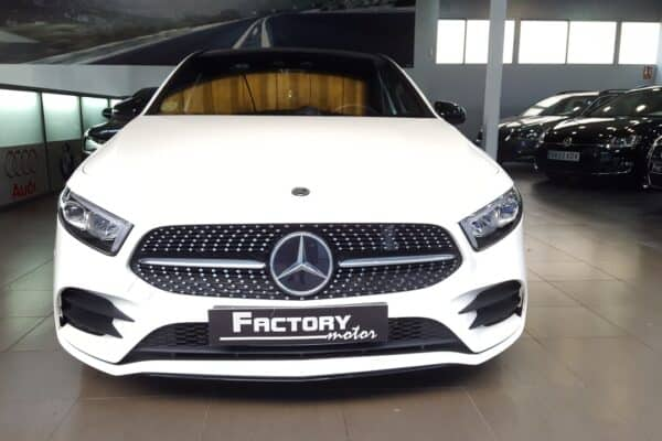 Frontal Mercedes-Benz Clase A 200