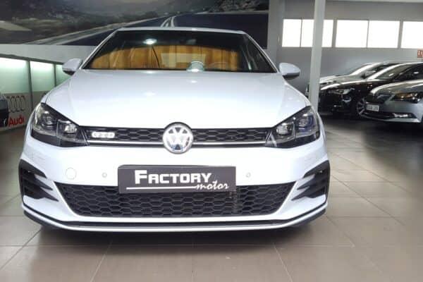 Frontal Volkswagen Golf GTD 2.0 TDI