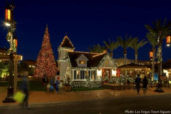 Visit santa at the las vegas town square