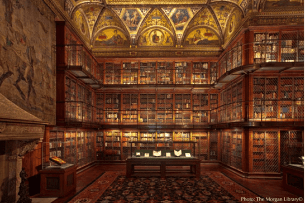 This elaborate reading room is the reason people visit the morgan library in new york