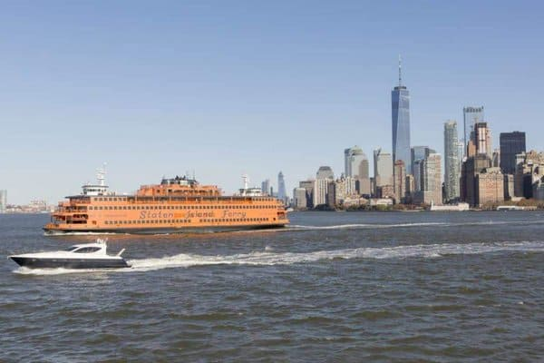 The staten island ferry is a cheap and kid-friendly way to get gorgeous views of new york harbor, the statue of liberty and the skyline.