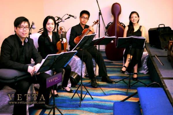 Pan Pacific Singapore Wedding - String Quartet