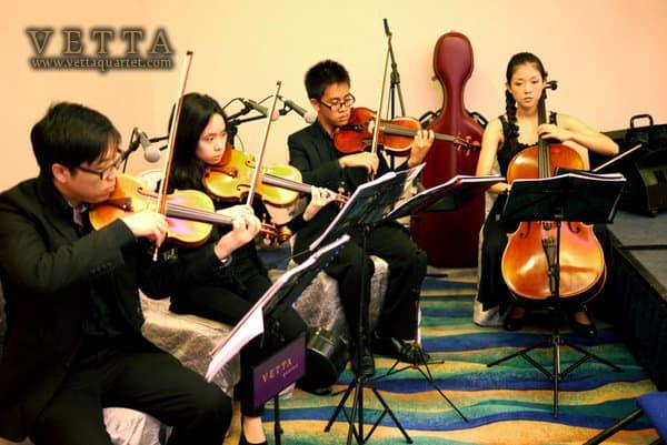 Wedding Music Band - Pan Pacific Singapore