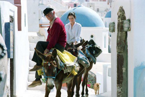 Sisterhood of the traveling pants in Greece.