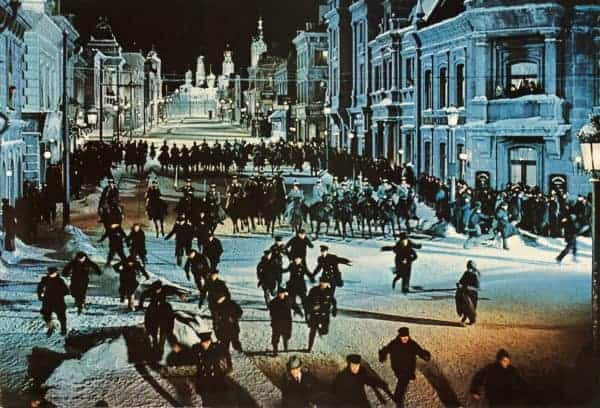 Dr. Zhivago is an epic movie with great setting in moscow and other parts of russia.
