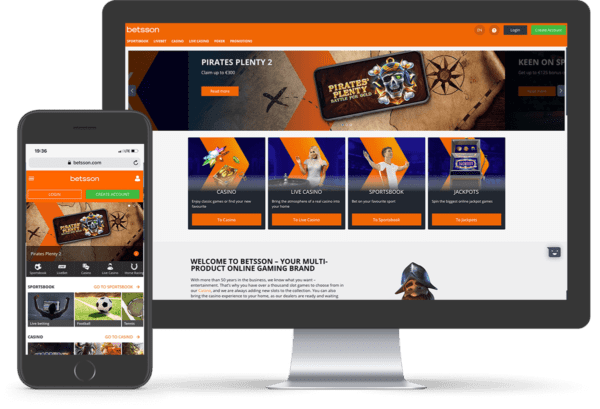 Betsson Online and Mobile Casino