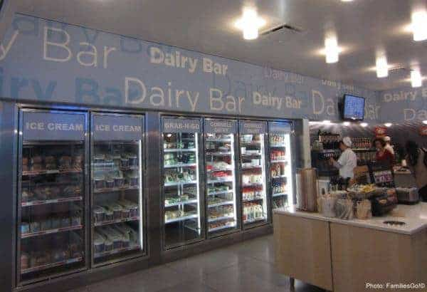 Cornell dairy bar has very good ice cream and other fresh dairy products