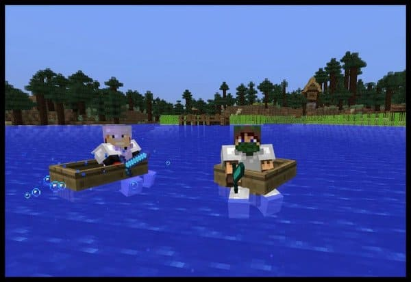 Minecraft Boating