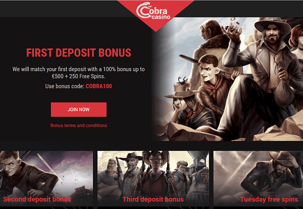 Bonus on First Deposit