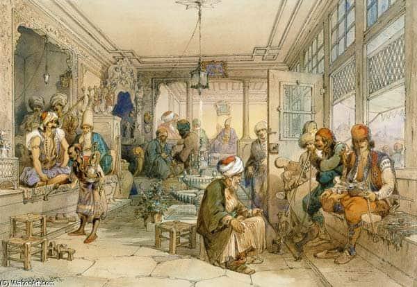 Historia del Café, Constantinopla (Turquía)