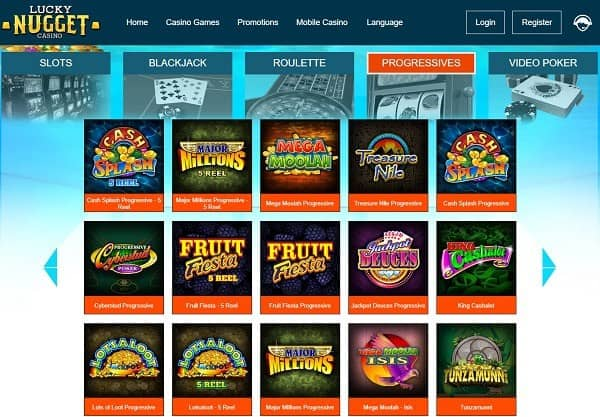 Lucky Nugget online casino review, test, recommendation