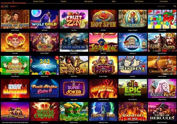 Spinamba Casino Review - bonuses, games, payments, support