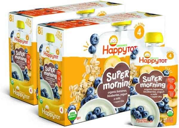 Happy Tot Organic Super Morning Pouches