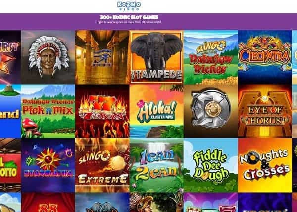 Kozmo Bingo Review: 10 free spins and £70 no wager bonus code