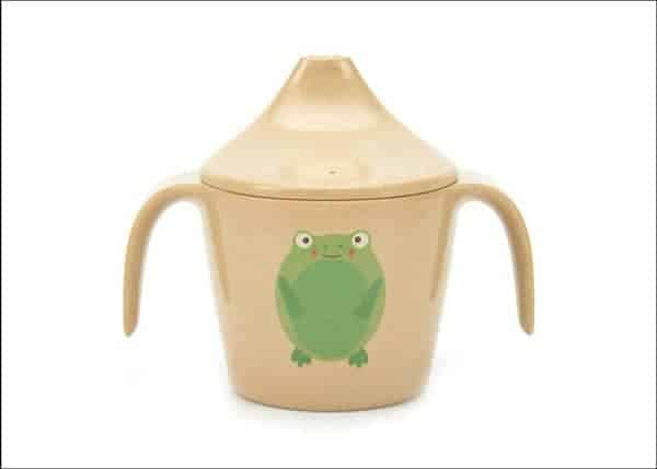 Froggy sippy cup for Baby Yoda