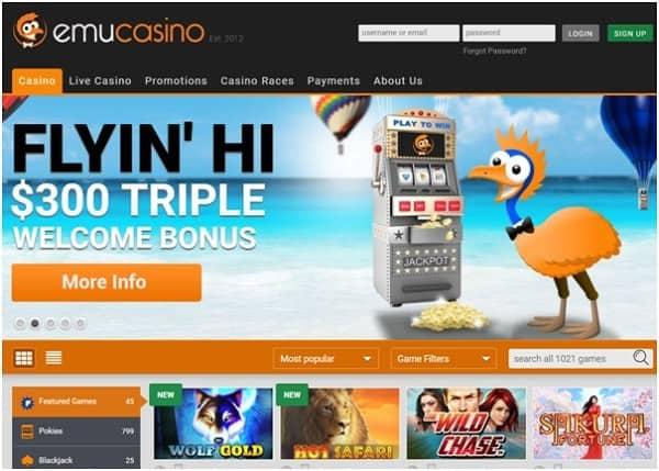 EmuCasino.com Free Spins