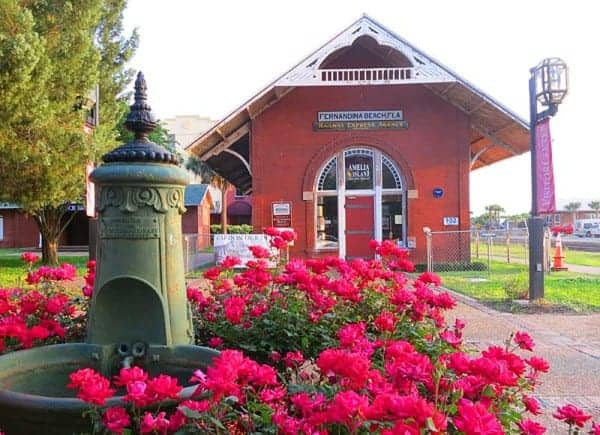 The historic train station and visitor center in Fernandina Beach is a good starting place in finding things to do in Amelia Island. (Photo: Bonnie Gross)