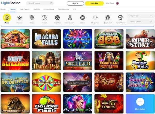 Light Casino review