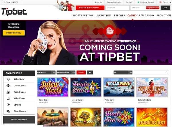 Tipbet.com free bonus