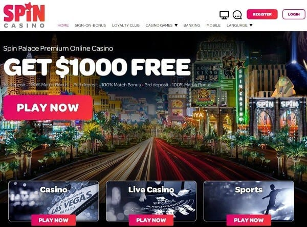 Spin Casino and Spin Sports Review