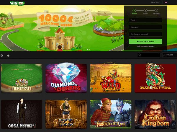 WinOui Casino Review Website