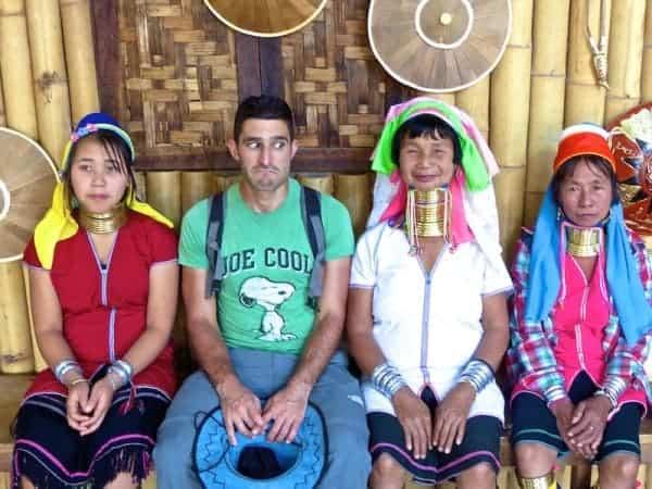Nomadic Boys Stefan long necked women Inle Lake