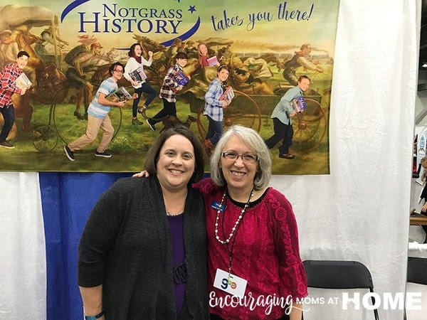 Notgrass History at Great Homeschool Conventions in Cincinnati 2017