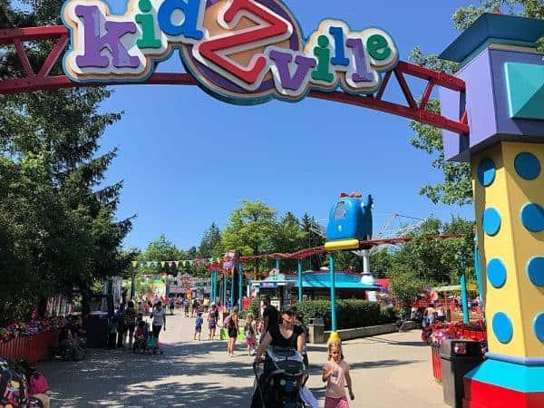 KidZville at Canadas Wonderland with a Baby or Toddler