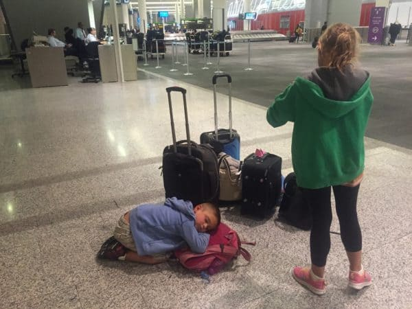 Travleing with a baby is easier thanks to a stroller