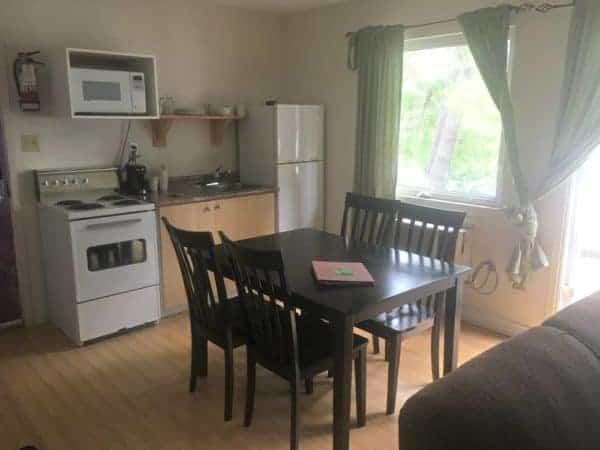 Cottage Kitchen at Viamede Resort