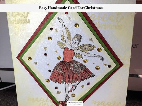 sugar plum fairy card