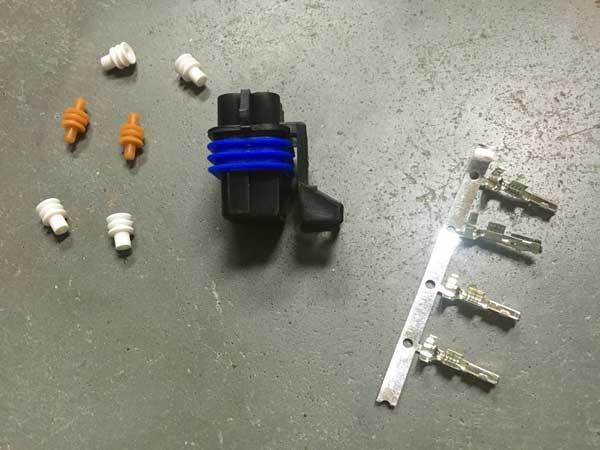 Tesla klep connector set