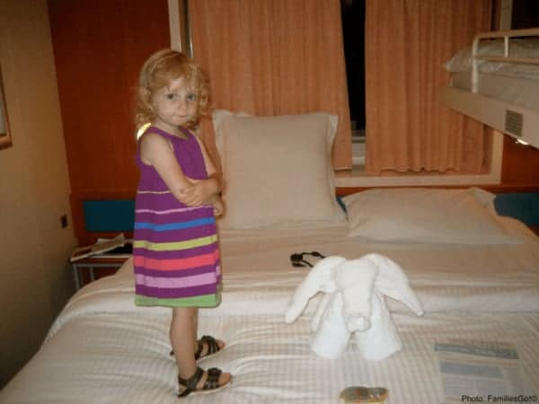 Towel critters are kid-pleasers are on cruise ships