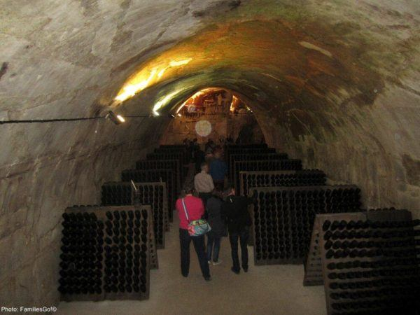 The gh martell caves in reims