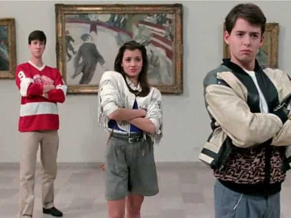 Ferris bueller introduced american teens to the chicago art institute.