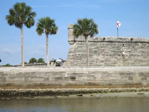castillo de san marcos from Anastasia State Park seduces with a stunning beach, cozy campground