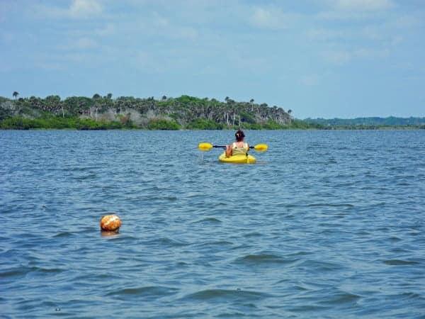 Paddling mosquito Lagoon from Eldora