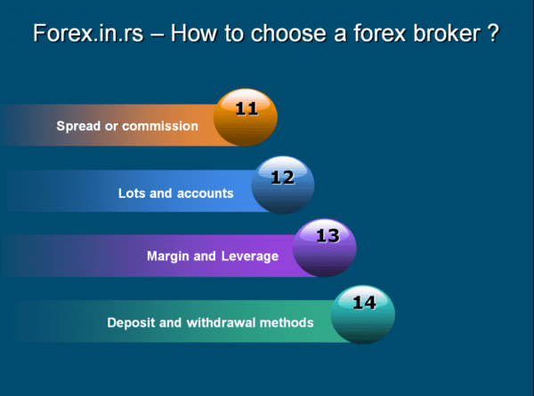 How to choose forex broker - commission and currency